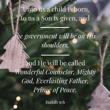 Unto us a child